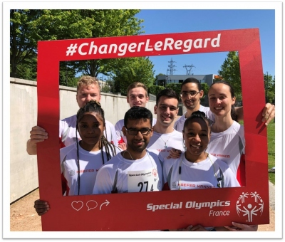 Course Solidaire Interentreprises Special Olympics France
